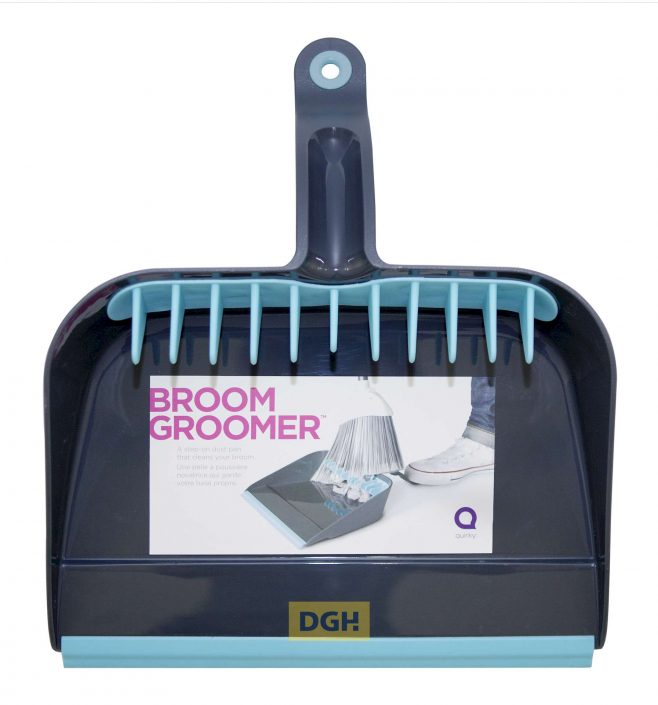 Quirky Broom Groomer Kehrschaufel